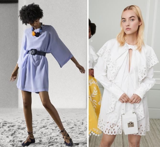 красивые летние платья 2019 от Emporio Armani,Oscar de la Renta