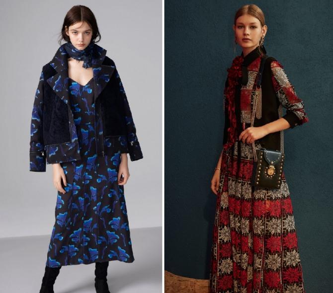 платья с ярким рисунком на каждый день от брендов Cacharel,Elie Saab