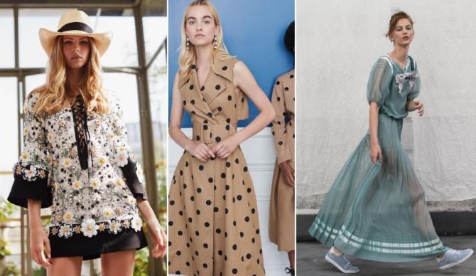 лето 2019 - фасоны модных платьев для девушек