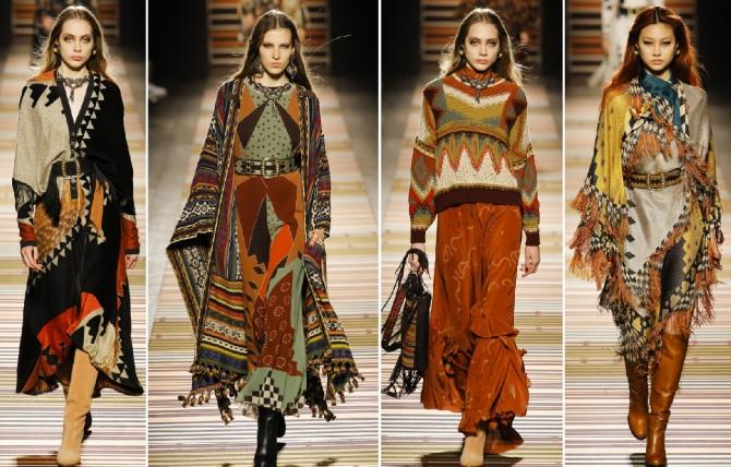 платья в этническом стиле от дизайнерского дома Etro