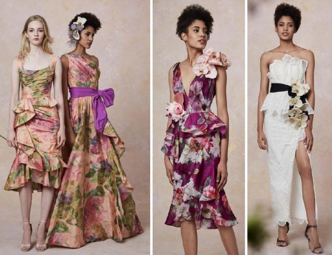 красивые летние платья 2019 - фото
