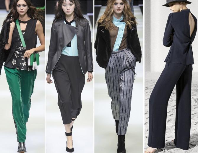 Брюки: модные тренды – 2019 рекомендации