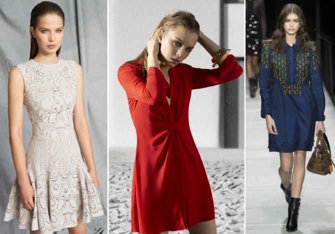 платья выше колен - Zuhair Murad,Emporio Armani,Bottega Veneta