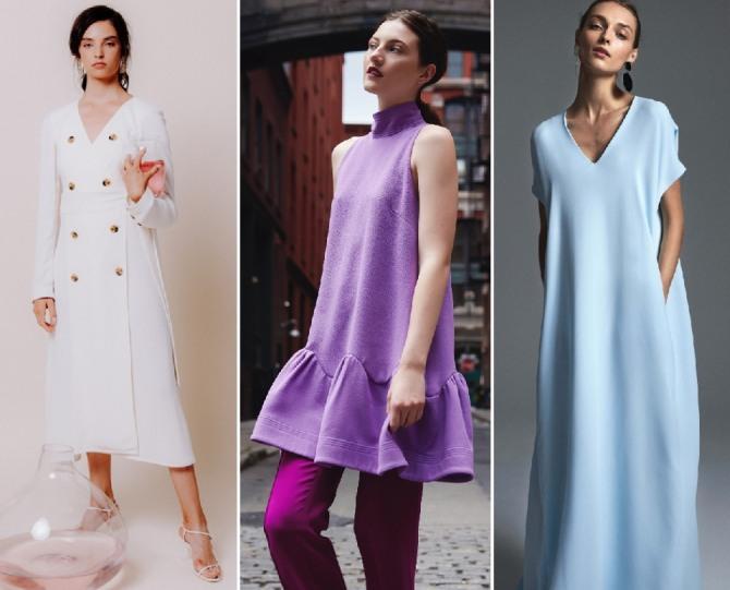 фото модных весенних платьев 2019 - новинки с модных показов