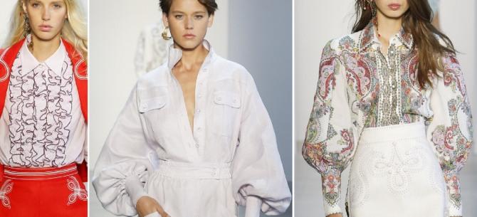 735858c49de Модные блузки 2019 от сестер Циммерман (Zimmermann)