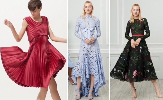 какие нарядные платья будут в тренде весной 2019 года