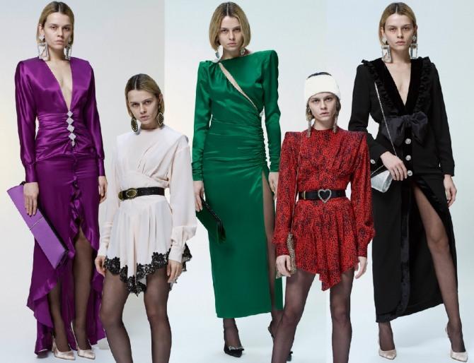 модные платья 2019 на вечер - тенденции и фото от модного дома Alessandra Rich