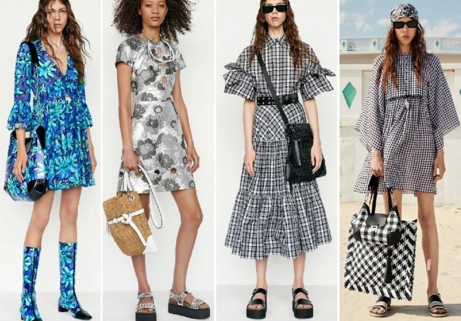 Michael Kors Collection - модные летние платья 2019 для девушек