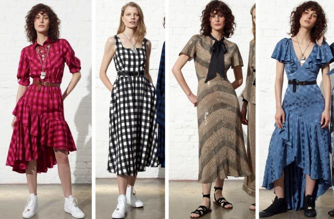 повседневные весенние платья бренда Temperley London на 2019 год