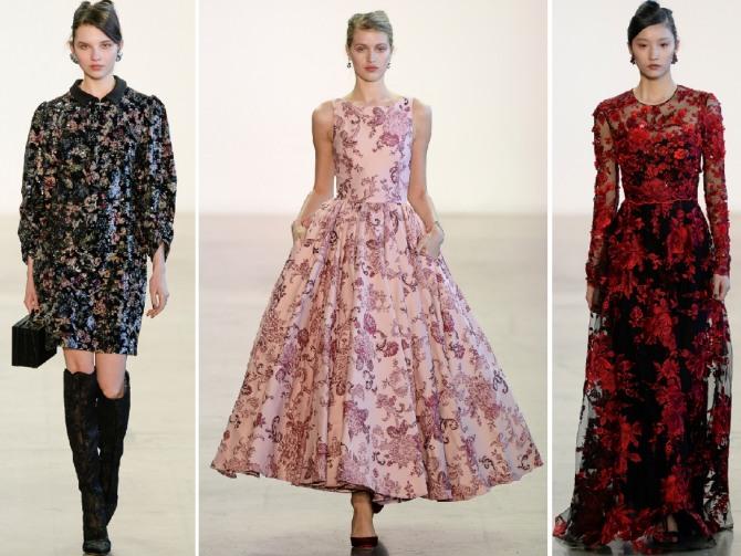 вечерние платья 2019 от Badgley Mischka