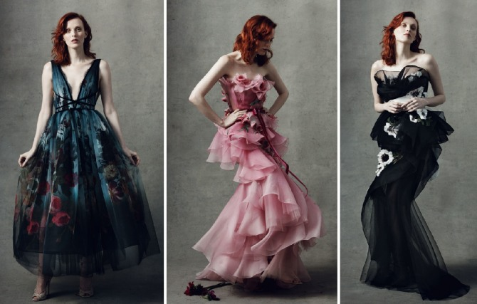 шикарные прозрачные платья до пола
