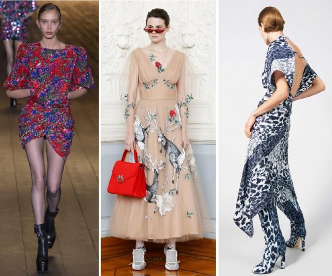 что надеть на торжество весной 2019 года - дизайнерские предложения от Saint Laurent,Alena Akhmadullina,Victoria Beckham