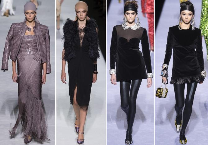 женская мода на нарядные платья 2019 от Tom Ford