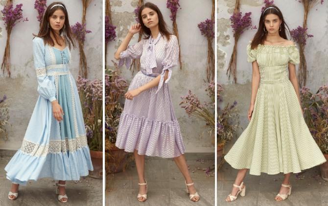 фото самых красивых летних платьев 2019
