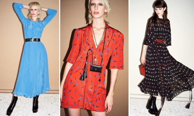 модели весенних платьев на каждый день от модного дома Sonia Rykiel