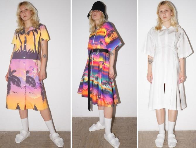 летние платья 2019 - курортные варианты