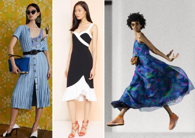Altuzarra,Kimora Lee Simmons,Emporio Armani - летние модели платьев на сезон лето 2019