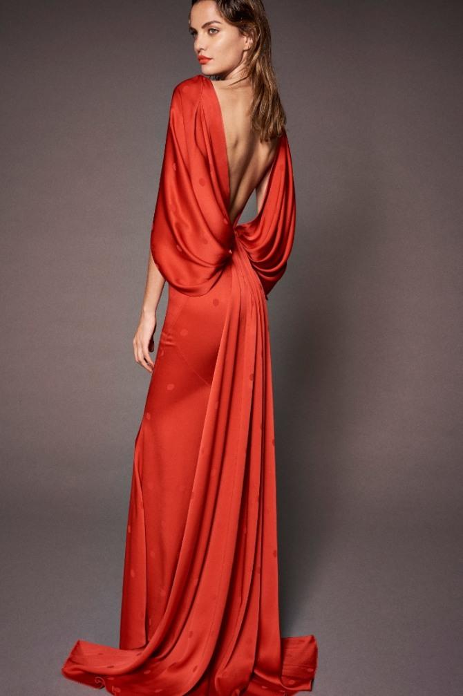 6abd5d194ae Вечерние платья с открытой спиной - фото новинок