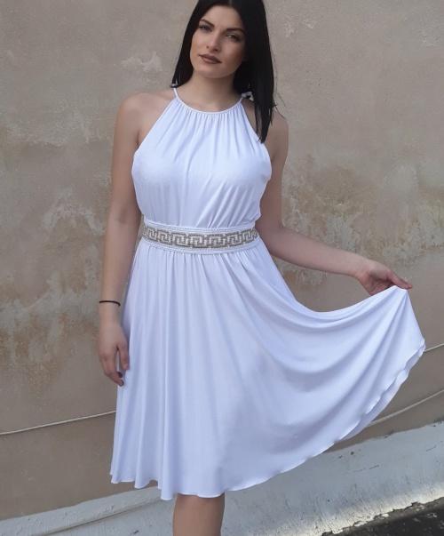 b7456bec531 Выпускное вечернее платье в греческом стиле - описание и фото