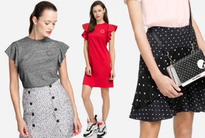 fcdcec3e21775 Фото модной летней одежды 2019 для девушек из коллекции SS19 от Karl  Lagerfeld
