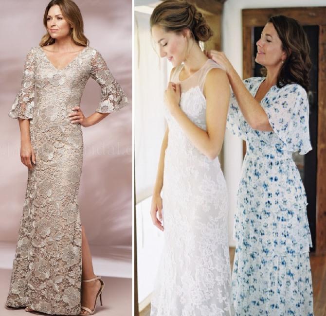идеи платьев мамы невесты