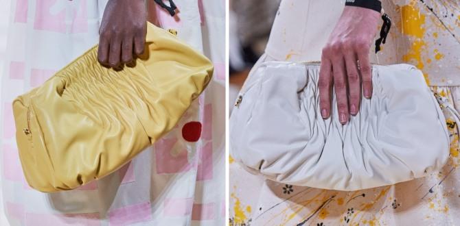 сумка-косметичка на лето 2020 года от Miu Miu