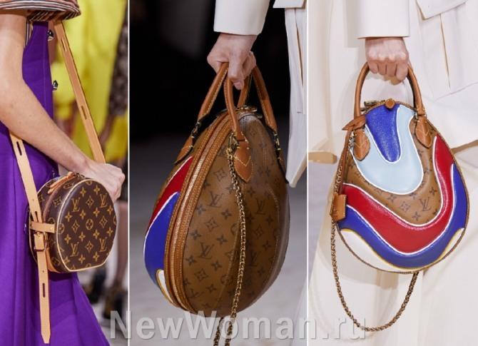 сумки от Louis Vuitton круглой формы - из коллекций весна-лето 2020 года