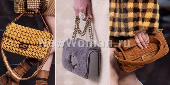 фото сумок флэп прямоугольной формы - фото модных сумок весна-лето 2020 из столиц мировой моды