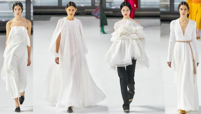 платья 2021 года белого цвета