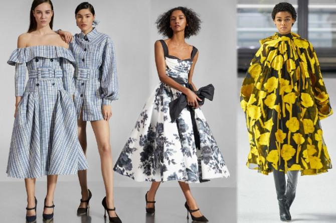 платья с какими принтами самые актуальные весной и летом 2021 года
