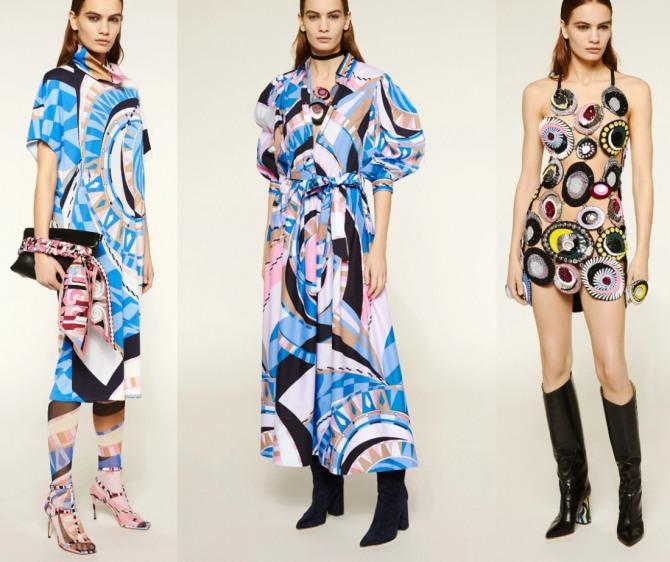 Принтованные платья Весна-Лето 2021