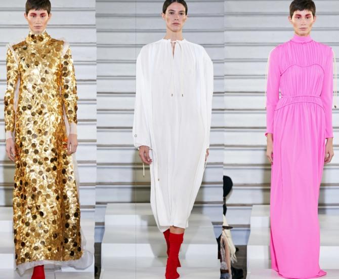 какие платья с длинным рукавом будут в моде весной 2021 года