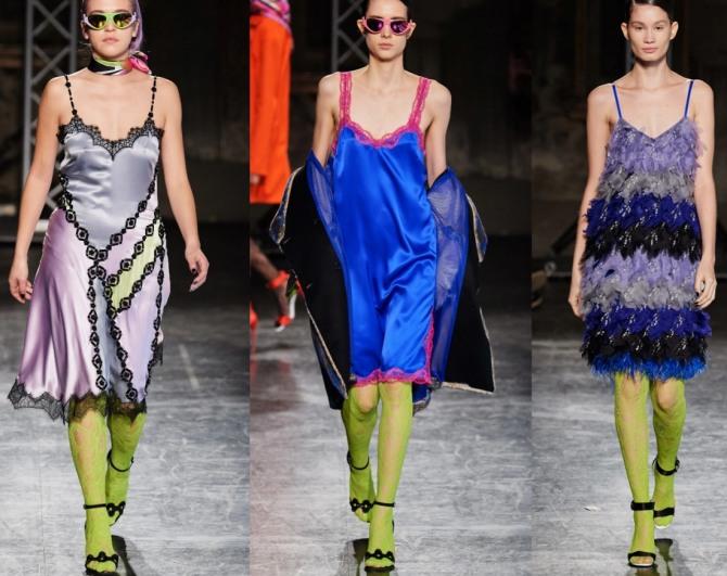 платья-комбинации 2021 года