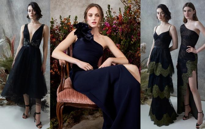 вечерние платья 2021 черного цвета для девушек