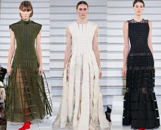 летние платья 2021 года из полос