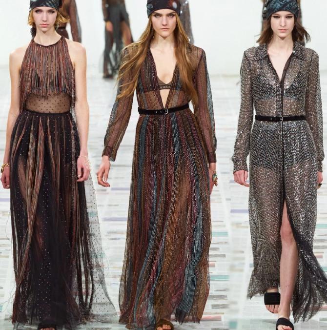 вечерние платья 2021 года с блестками и пайетками