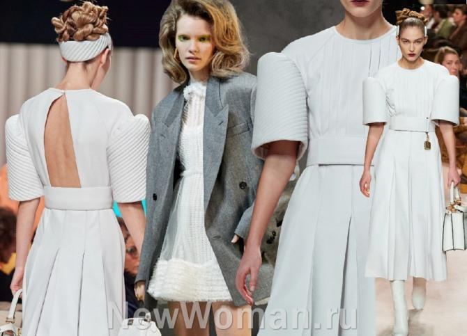 весна-лето 2021 - платья пастельных оттенков