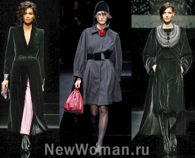 платье-плащ - модный тренд 2021 года