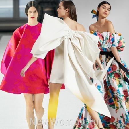 Модные платья 2021 - на весну, лето, осень, зиму - тенденции и фото новинок с последних модных показов