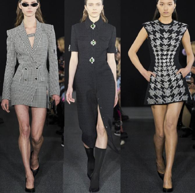 стильная женская одежда для девушек на 2021 год - платья мини и с разрезом, оголяющие стройные ноги