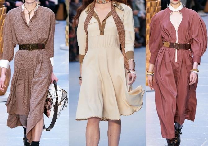 в каком платье ходить на работу в 2021 году осенью, зимой и весной - стильные образы с подиума