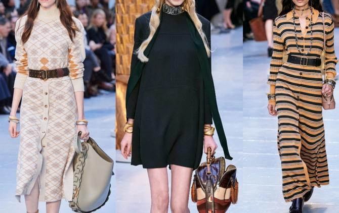 модные трикотажные платья 2021 года