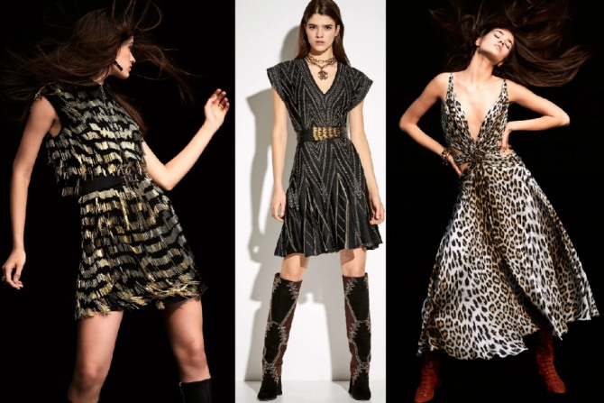 нарядные вечерние платья для юных девушек - новинки 2021 года от Roberto Cavalli