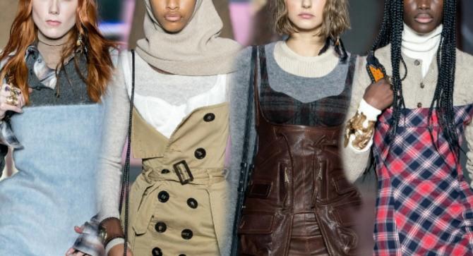 платье-сарафан осень зима весна 2021 года - горячий тренд в женской одежде