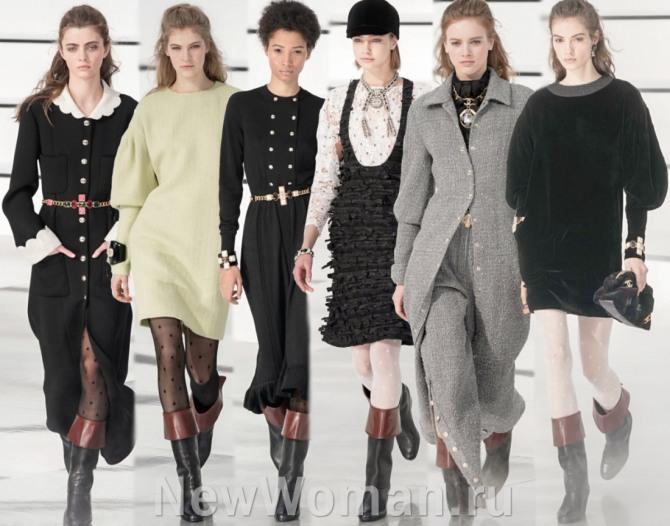 Повседневные и деловые платья 2021 года от Шанель