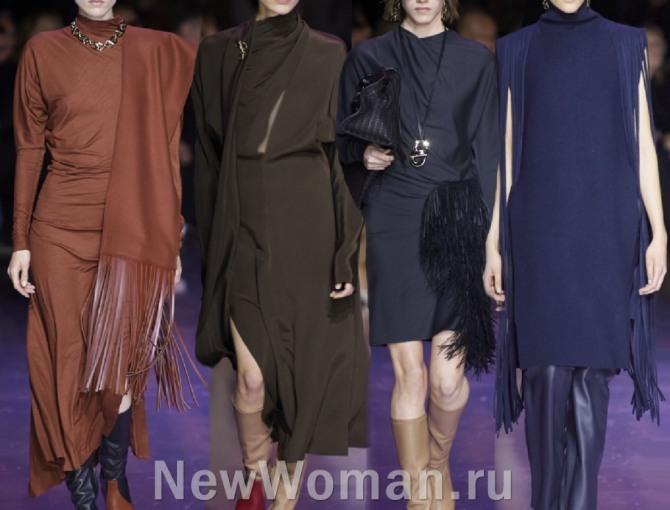 стильные трикотажные платья на каждый день от бренда Hugo Boss