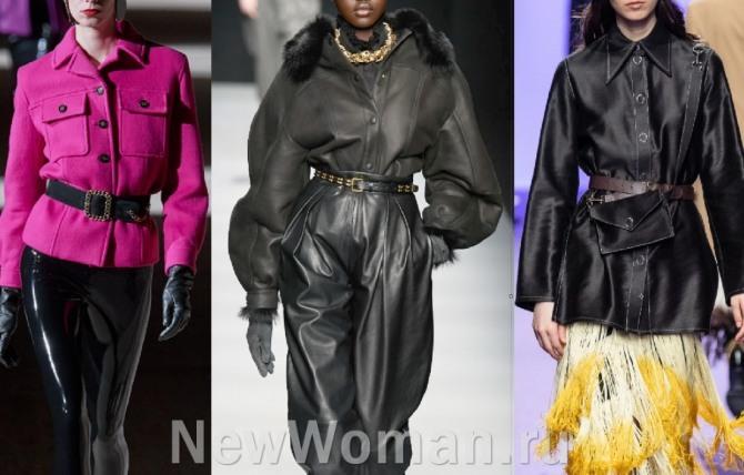 какие куртки для девушек и женщин самые стильные в 2021 году - куртка-рубашка, фото из дизайнерских коллекций осень-зима 2020-2021