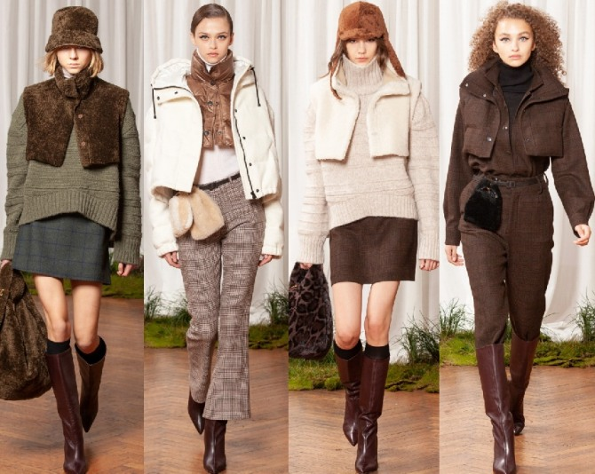 модные тренды в верхней демисезонной женской одежде 2021 года - курточки-малютки в составе двухслойного комплекта из курток