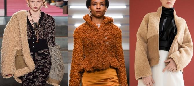 женская куртка из ткани чебурашка - горячий тренд в женской демисезонной одежде 2021 года
