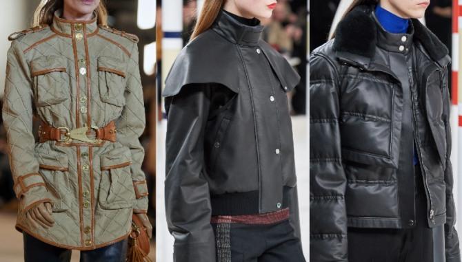 фото брендовых курток 2021 года от модных европейских домов с воротником-стойкой